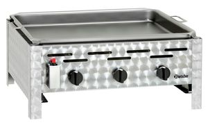Combi table-top grill,gas,3 burners
