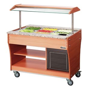 Buffet trolley, cold, 3x 1/1 GN