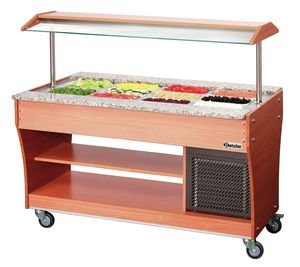 Buffet trolley, cold, 4x 1/1 GN