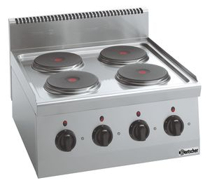 Electric stove 600, W600, 4PL, TU