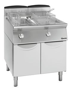 Deep fat fryer gas, 700 W700, 2x13L
