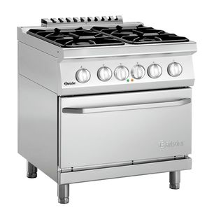 Gas stove 700, W800, 4BR, elO