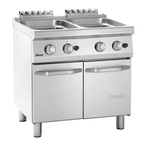 Pasta cooker, gas 700, W800 2x24L