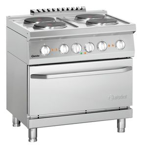 Electric stove 700, W800, 4PL, elO