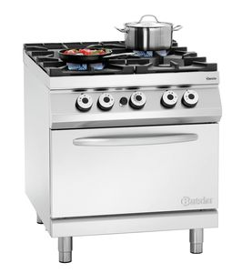 Gas stove 900, W900, 4BR, elO