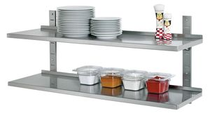 Wall shelf set, 1200x355 complete