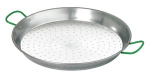Paella pan 65cm, with grips