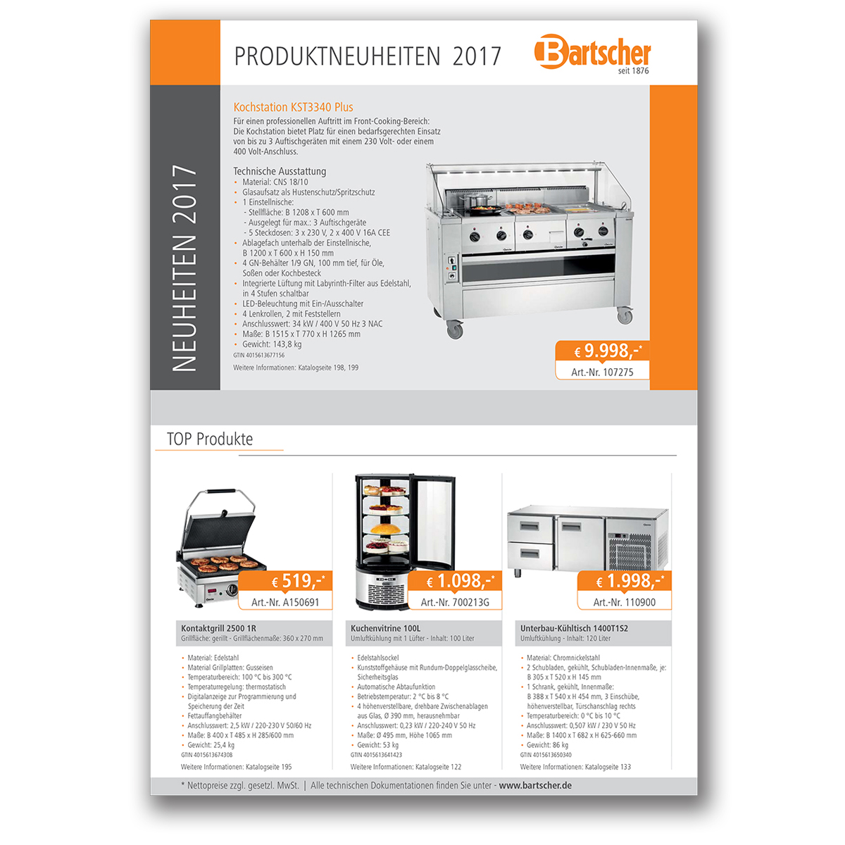 new product flyer
